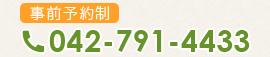 TEL:042-791-4433